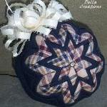 3-inch Quilted Ornament - N..